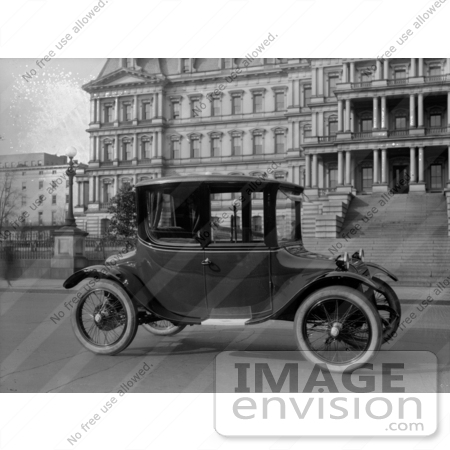 #21626 Stock Photography of a Detroit Electric Car by JVPD