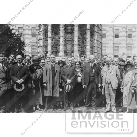 #2166 President Coolidge With the American Chemical Society by JVPD