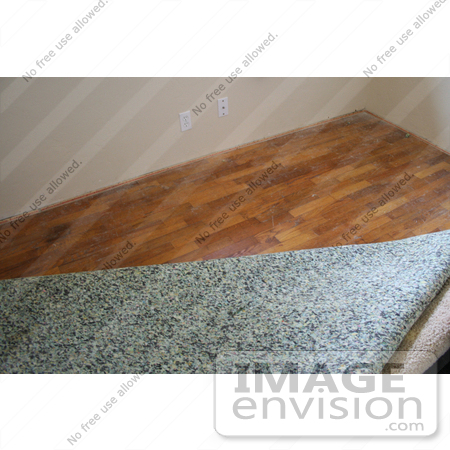 Stock Photography Of Carpet Padding Being Removed To