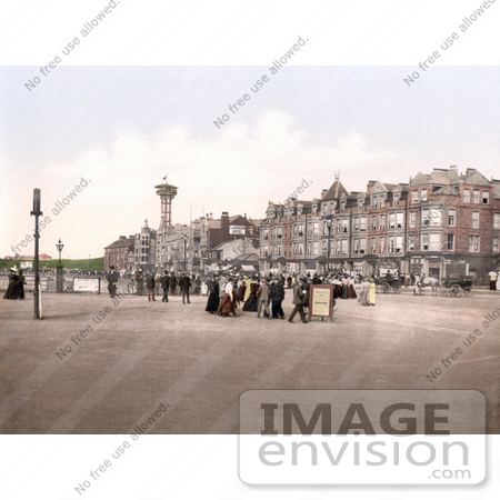 21938 Stock Photography Of The Tower And Promenade In Morecambe Lancas...