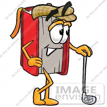Clip Art Graphic of a Book Cartoon Character Leaning on a Golf Club Cartoon Clip Art Golf Course on family cartoons clip art, biking cartoons clip art, animal cartoons clip art, baseball cartoons clip art, books cartoons clip art, wedding cartoons clip art, skating cartoons clip art, swimming cartoons clip art, cartoon trophy clip art, nature cartoons clip art, cartoon horse clip art, off-duty clip art, fitness cartoons clip art, lovers clip art, golfer clip art, animated clip art, cartoon cars clip art, safety cartoon clip art, business cartoons clip art, cute cartoon clip art,