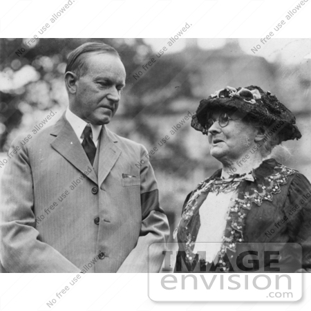 #2267 President Coolidge and Mother Jones by JVPD