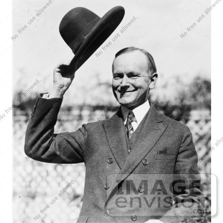 #2283 Calvin Coolidge Tipping His Hat by JVPD