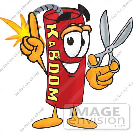 Stick of Dynamite Explosion Stick Red Dynamite Cartoon