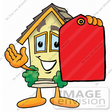 cartoon house. Residential House Cartoon