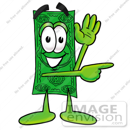 clip art graphic of a flat green dollar bill cartoon character rh imageenvision com Blank Dollar Bill Clip Art dollar bill clip art template