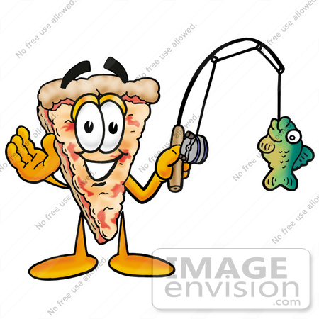 cartoon fisherman in boat. People Clipart #25062 Clip Art