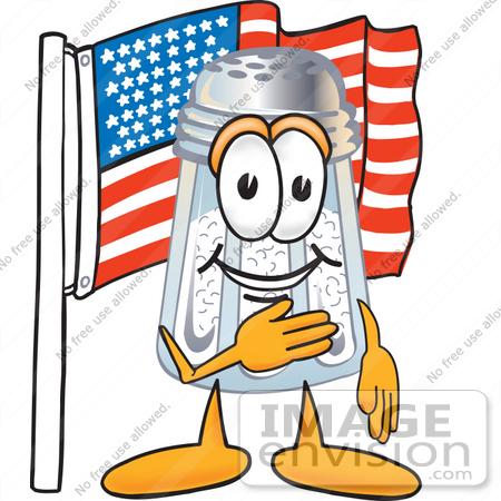 small american flag clip art. #25303 Clip Art Graphic of a