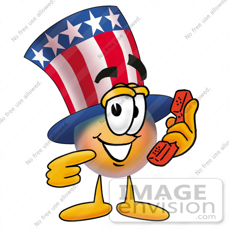 clip art graphic of a patriotic uncle sam character holding a rh imageenvision com Cartoon Uncle Sam Clip Art Cartoon Uncle Sam Clip Art