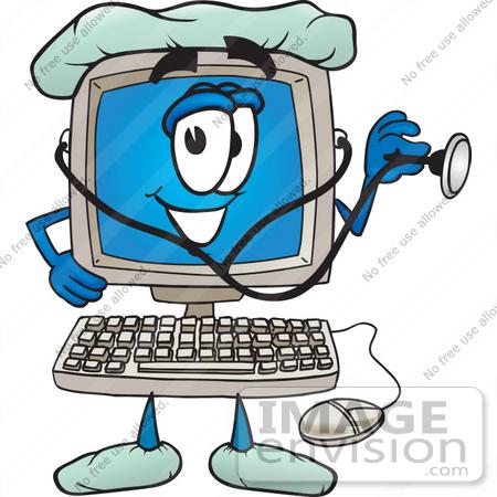 clip art nurse. #26224 Clip Art Graphic of a