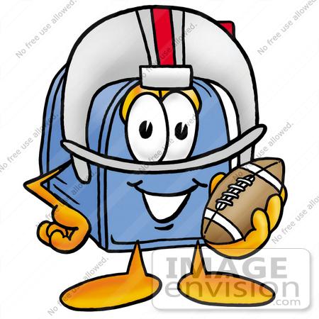 rejection clip art. blue football helmet clipart.