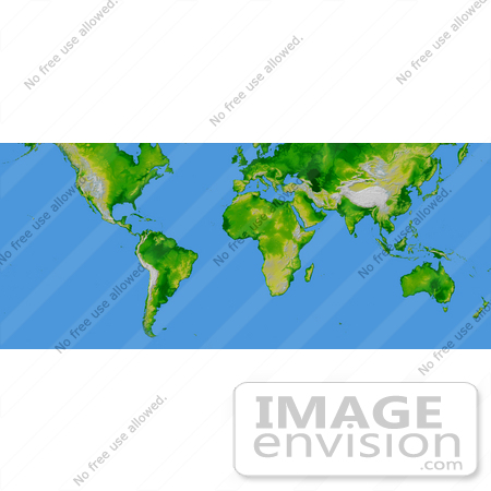 #2684 Picture of Continents of the Earth by JVPD