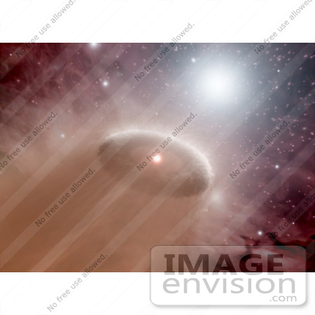 #27005 Stock Photography of an O-Star In A Murky Star-Forming Region by JVPD