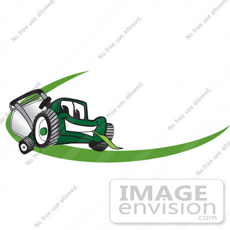 clip art graphic of a green lawn mower mascot character chewing on a rh imageenvision com lawn mower repair logos lawn mower service logos