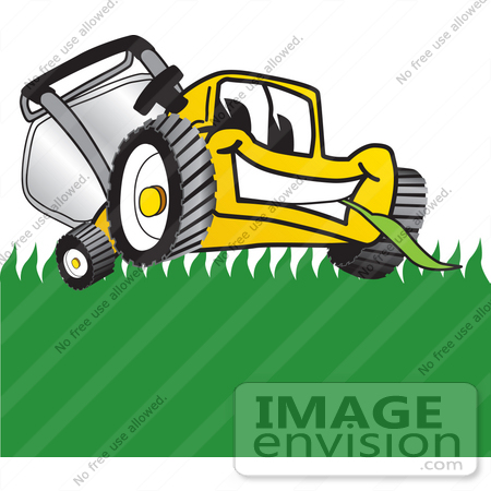 Clip Art Lawn Care Clip Art royalty free lawn care stock clipart cartoons page 1 27399 clip art graphic of a yellow mower mascot character facing front and eating