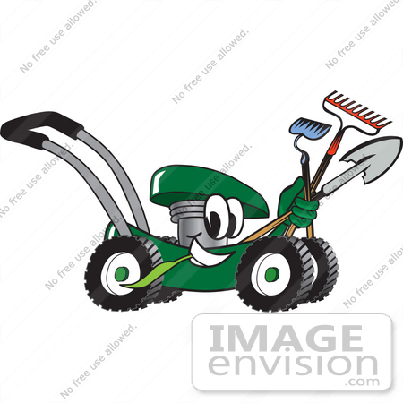 Royalty-Free Lawn Care Stock Clipart & Cartoons | Page 1