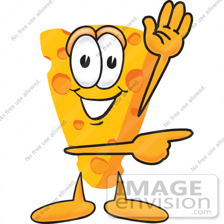 clip art graphic of a swiss cheese wedge mascot character waving and rh imageenvision com mouse eating cheese clipart free cheese grater clipart free