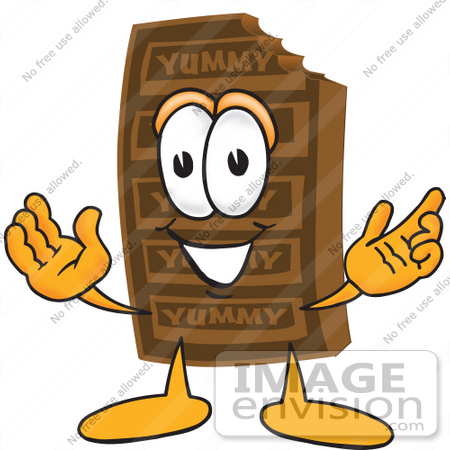 clip art graphic of a chocolate candy bar mascot character with rh imageenvision com Clip Art Alcoholic Beverages John Deere Tractor Clip Art