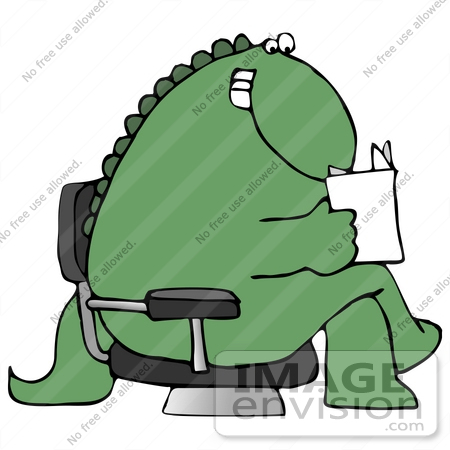 clip art graphic of a seated happy green dinosaur reading a letter rh imageenvision com Dinosaur Clip Art Cute Dinosaur Clip Art