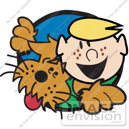 detective dog cartoon