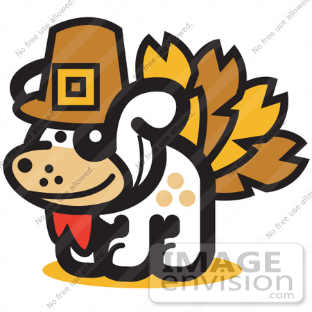 royalty free cartoon clip art of a dog disguised as a thanksgiving rh imageenvision com animal shelter clipart dog shelter clipart