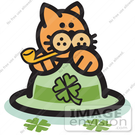 hello kitty smoking bowl. #29046 Royalty-free Cartoon