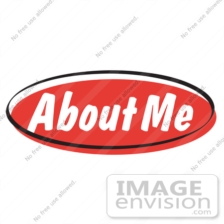 royalty free cartoon clip art of a red about me internet website rh imageenvision com website clipart free free clipart websites