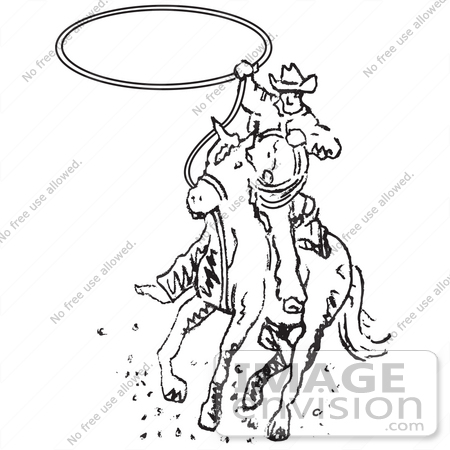 Royalty-Free Lasso Stock Clipart & Cartoons | Page 1