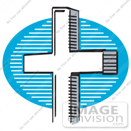 free clipart of crosses. #29326 Royalty-free Cartoon