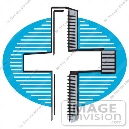 free clipart of crosses. #29326 Royalty-free Cartoon