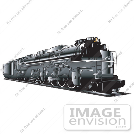 clip art train. Clip Art of a Black Train