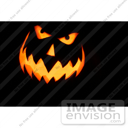 30 picture of scary halloween pumpkin face by kenny adams - Scary Halloween Pumpkin Faces