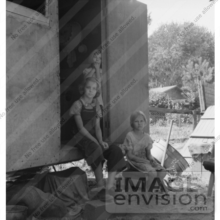 #3028 Children Living in a Trailer by JVPD