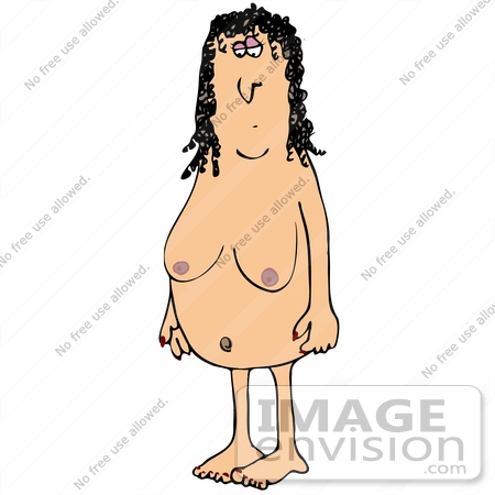 Naked Woman Clip Art, Vector Images & Illustrations -