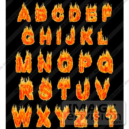 alphabet illustrations and clipart auto design tech