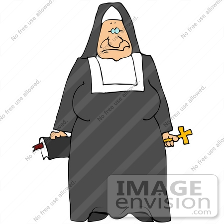 Royalty-Free Nun Stock Clipart & Cartoons | Page 1