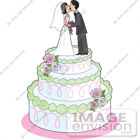 clip art wedding bells. #33608 Clip Art Graphic of a