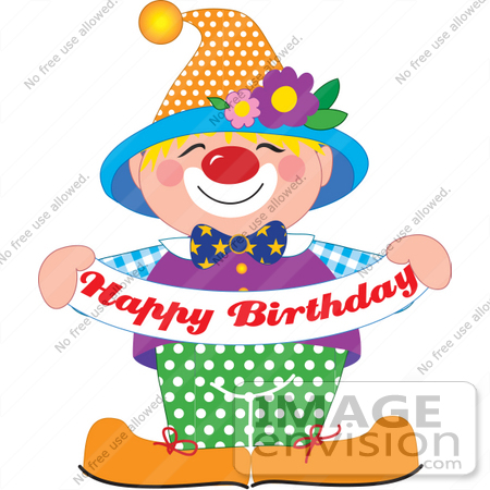 Clip Art Clowns for Birthday Parties – Clipart Free Download