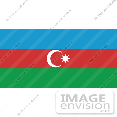 Clip Art Graphic of the Rub El Hizb Star On The Blue, Red, And ...