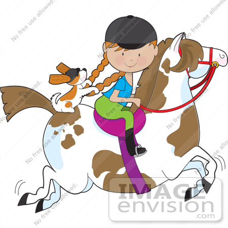 Pony Ride Clip Art