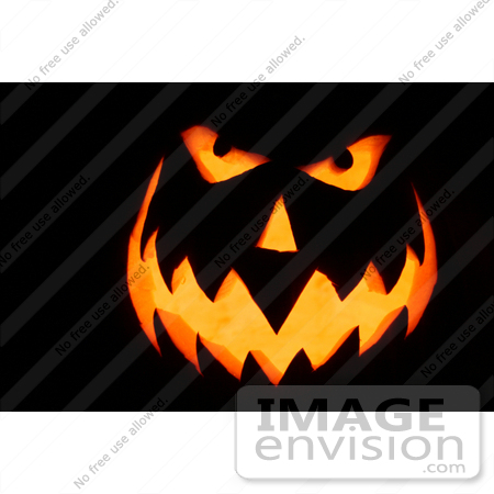 #35 Halloween Picture of a Jack O by Kenny Adams