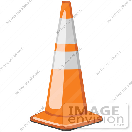 safety cones royalty free cartoons stock clipart of traffic cones page 1