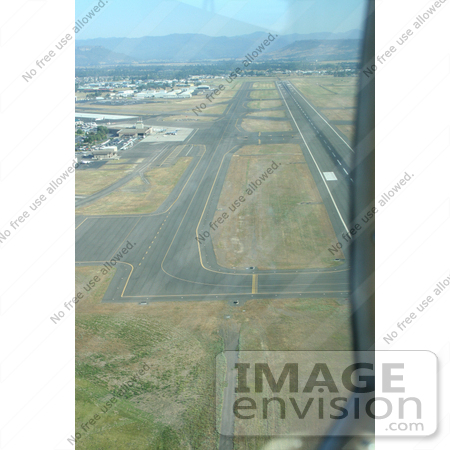 #365 Photograph of an Airport Runway From Above by Jamie Voetsch