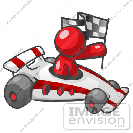 Auto Clipart Free Racing on Race Car    37338 By Jester Arts   Royalty Free Stock Cliparts
