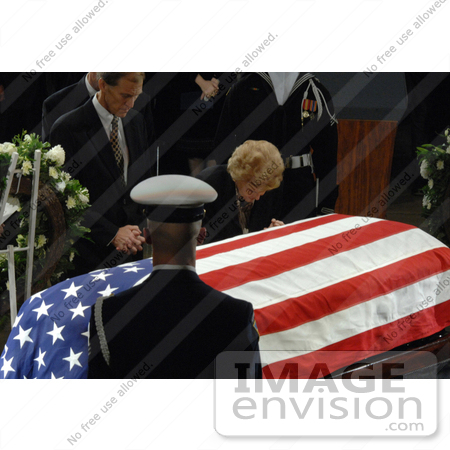 #3786 Betty Ford Over Casket of Gerald Ford by JVPD