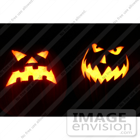 #38 Picture of Scary Halloween pumpkins by Kenny Adams