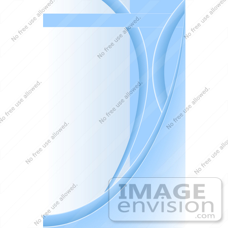 #38135 Clip Art Graphic of a Background Of Blue Curves And Lines Over Pale Blue by Oleksiy Maksymenko