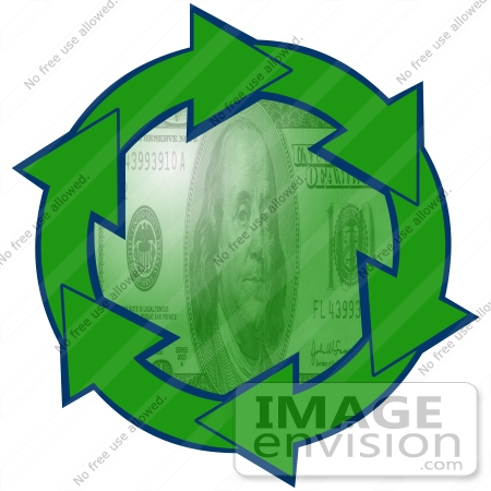 High quality cartoon 100 Dollar Bill clip art image you cannot find or