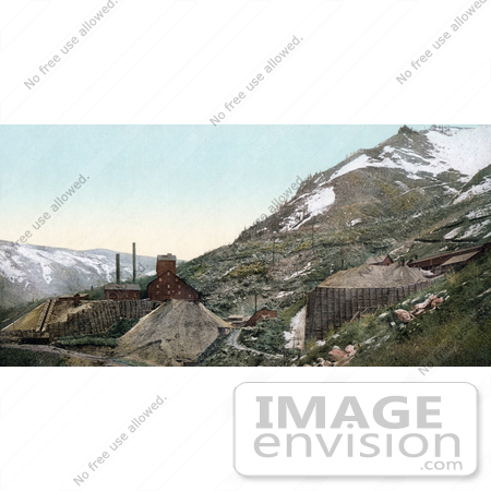 #40891 Stock Photo of The Silver Mines In Aspen, Colorado by JVPD