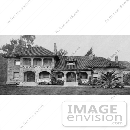 #40908 Stock Photo of The Front Of The Lodge In Golden Gate Park, San Francisco, California by JVPD